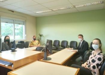 Reunião ocorreu nesta semana no Fórum de Sapiranga  Foto: Ministério Público