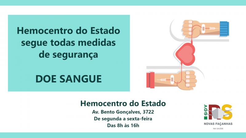 Foto: Divulgação/SES-RS