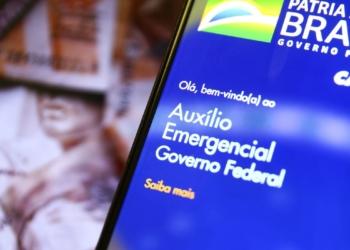 Aplicativo auxílio emergencial do Governo Federal - Foto: Marcelo Camargo/Agência Brasil