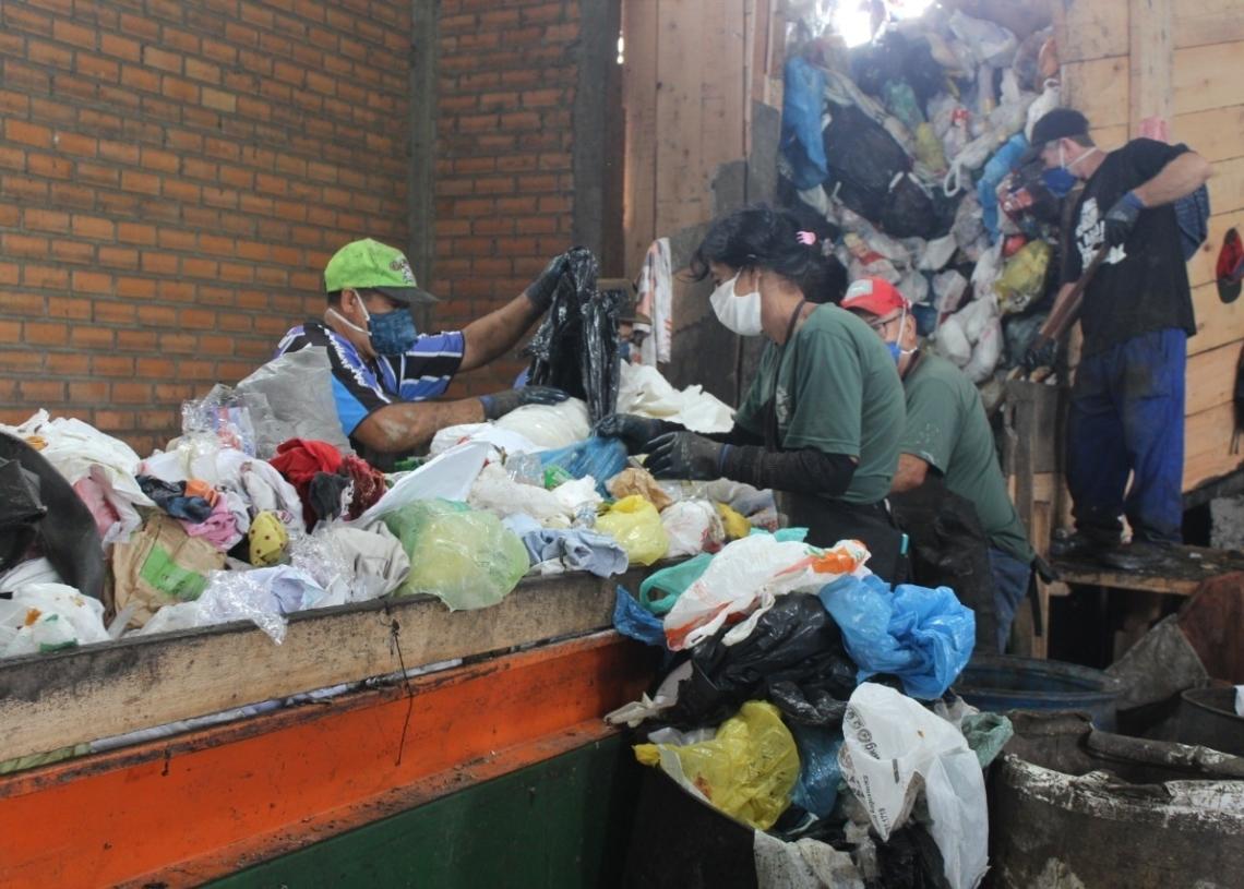 Por dia, são produzidas cerca de 40 toneladas de lixo em Sapiranga (Foto: Melissa Costa)