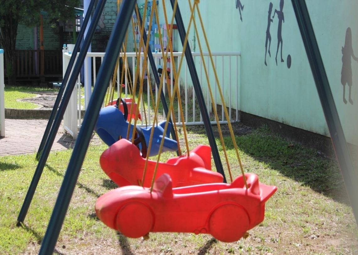 Gestão tem tido olhar diferenciado para o brincar nas escolas de educação infantil  (Foto: Melissa Costa)