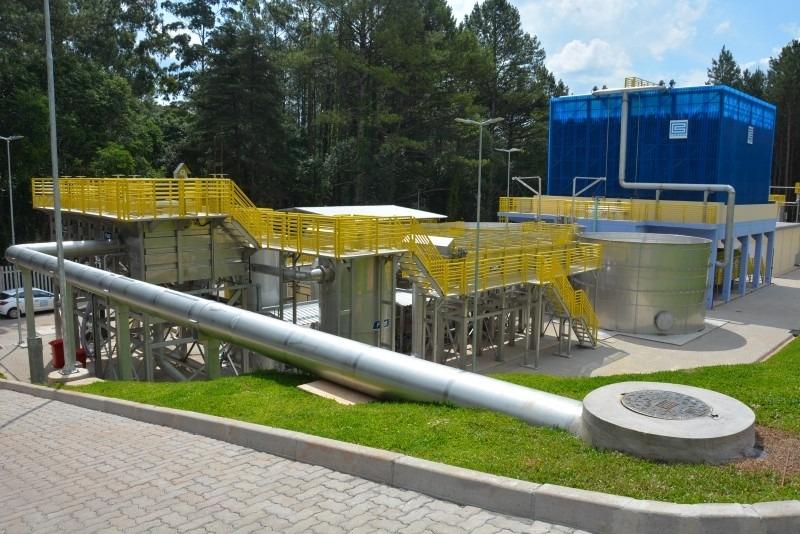 Modelo modular permite a expansão posterior da capacidade da ETE - Foto: Divulgação/Corsan