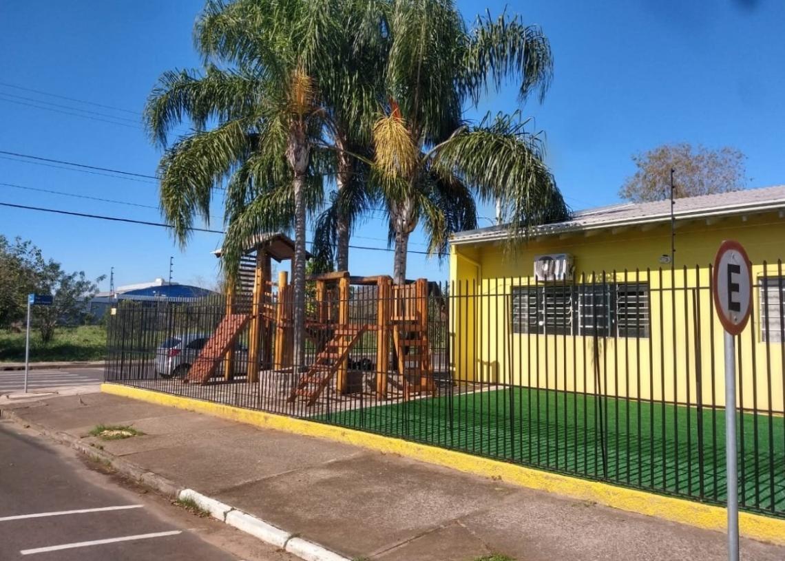 No ano passado, APAE conseguiu reformar a área externa da sua sede - Foto: Arquivo/JR