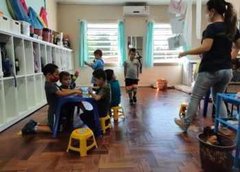 Na educação infantil de Campo Bom, pais podem escolher se aluno deve ou não usar máscara durante as aulas - Foto: Henrique Ternus