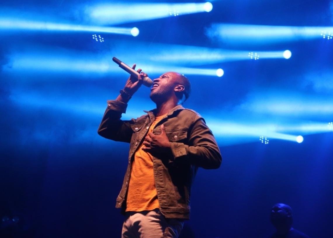 Em 2019, uma das grandes atrações foi o show nacional com Tiaguinho, que animou o público com suas músicas e carisma (Foto: Arquivo Repercussão)