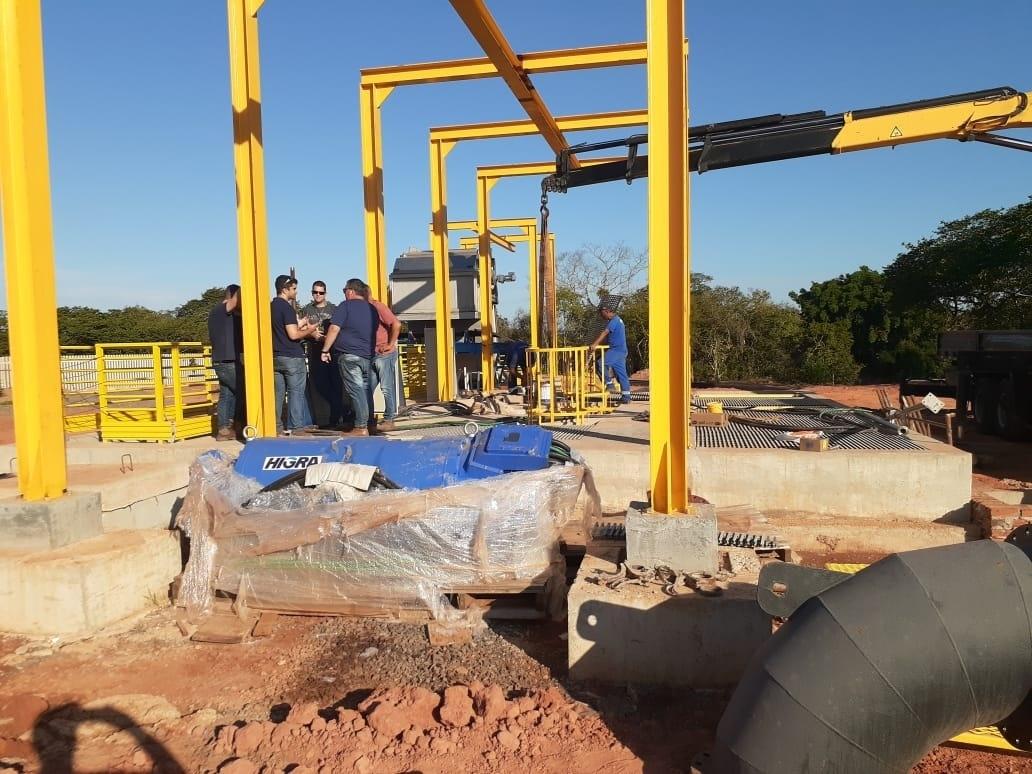 Equipamentos modernos garantem abastecimento de água nas cidades que compõem o sistema integrado de Campo Bom - Fotos: Divulgação