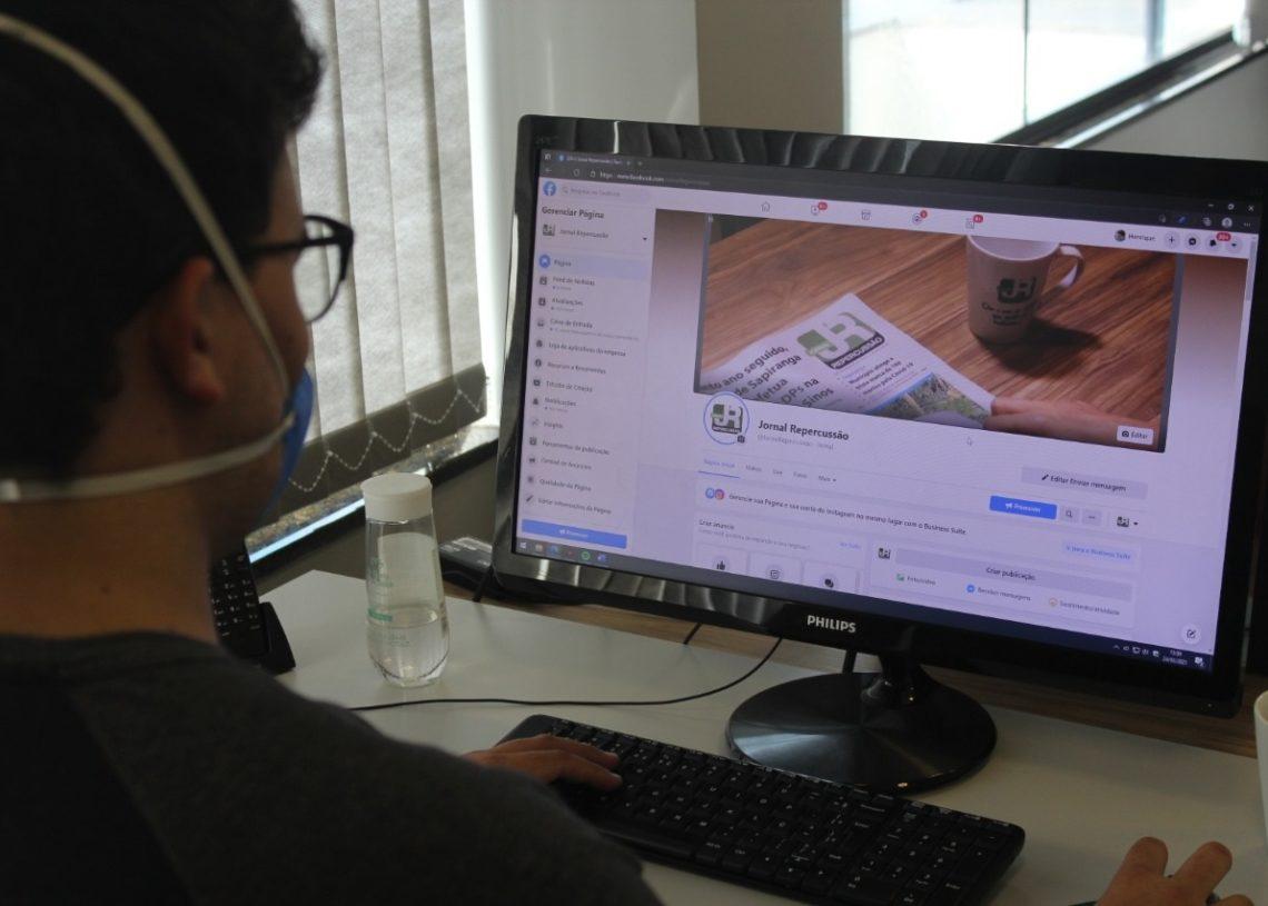 Notícias da região atingem grande repercussão pelas redes sociais do veículo de comunicação (Foto: Melissa Costa)