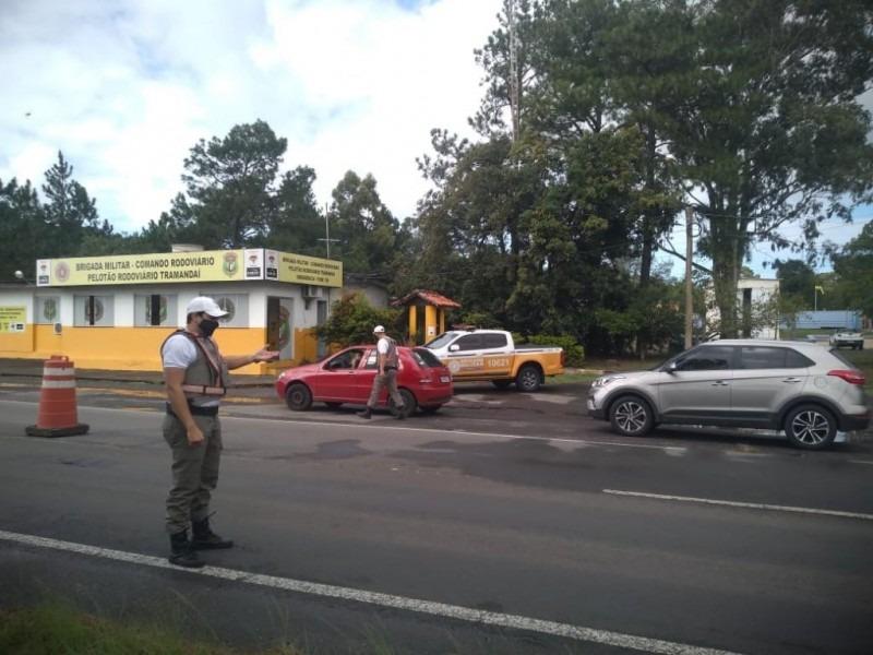 Operação Páscoa, do CRBM, amplia policiamento nas estradas para prevenir acidentes e orientar protocolos contra Covid-19 - Foto: Divulgação/CRBM