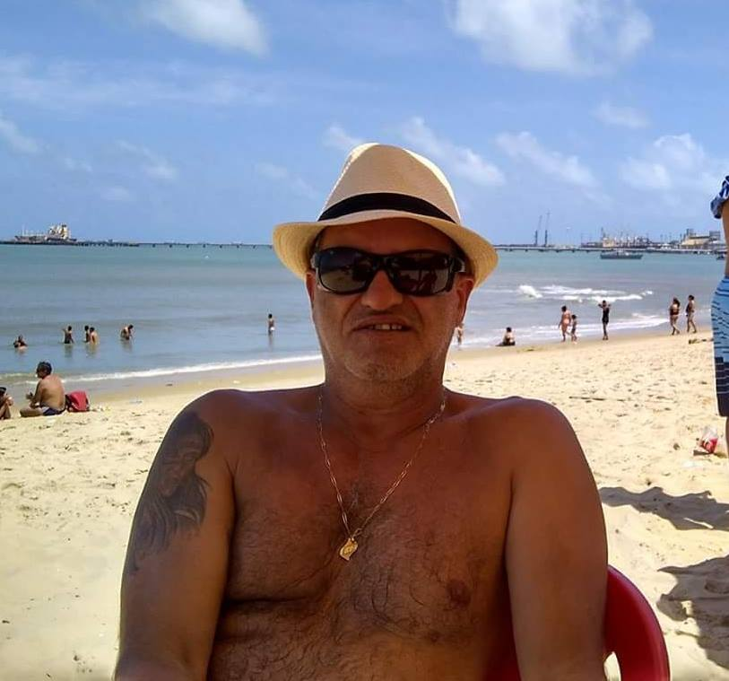 Policial rodoviário aposentado, Flamarion Moraes da Silva morreu em agosto de 2018  (Foto: Arquivo Pessoal)