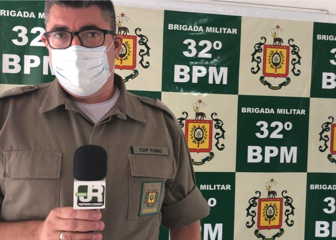 Capitão Fábio passa a atuar em Sapiranga