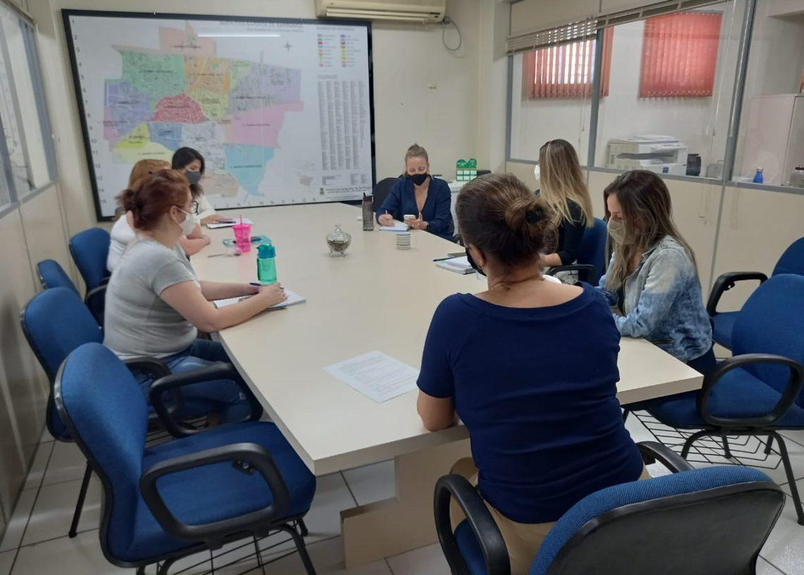 Grupo atuando na construção do  formulário do censo  (Foto: Divulgação)