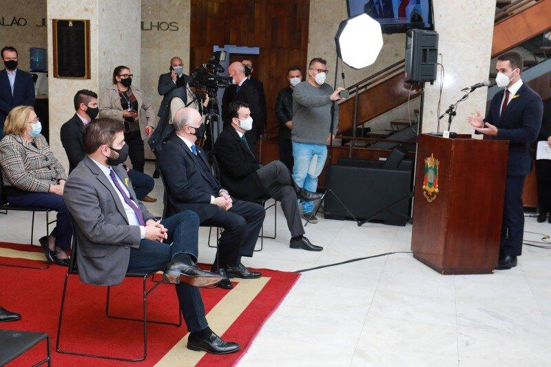 Foto: Itamar Aguiar / Palácio Piratini
