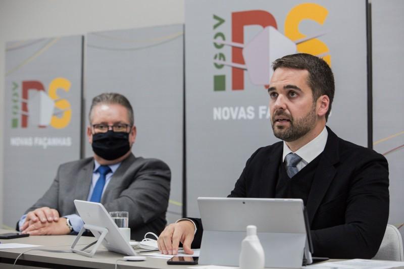 Novo modelo de gerenciamento foi divulgado pelo governado Eduardo Leite na semana passada (Foto: Felipe Dalla Valle / Palácio Piratini)