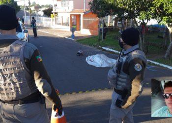 Crime ocorreu no amanhecer de terça-feira (Foto: Deivis Luz)