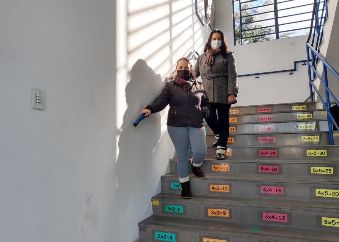 Escolas municipais de Sapiranga estão se adequando  (Foto: Cássios Schaab)