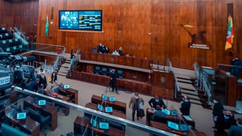 Assembleia aprova medida | Foto: Joel Vargas / ALRS