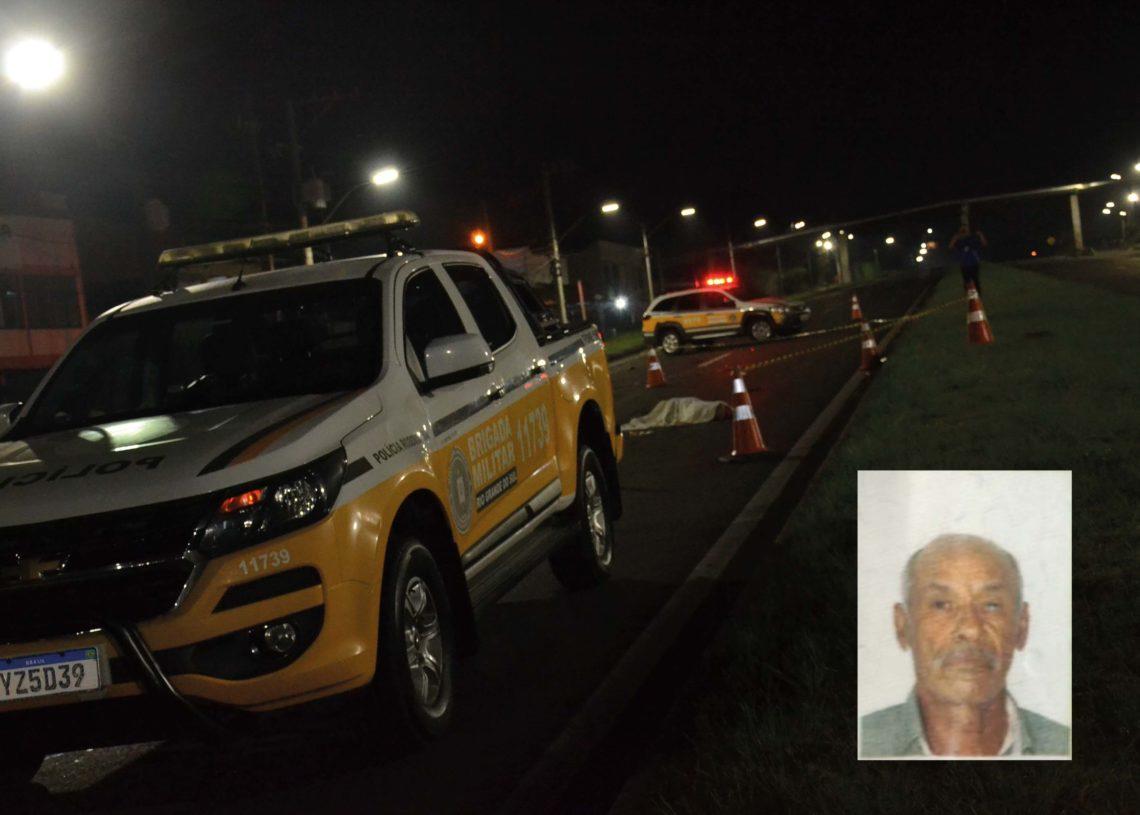 Telmo (detalhe) morreu ao ser atropelado por um motociclista (Foto: Melissa Costa)