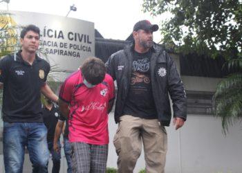 Tio foi preso preventivamente pelo estupro das duas irmãs em Sapiranga (Fotos: Melissa Costa)