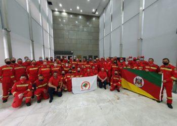 Bombeiros voluntários participaram da votação na Assembleia Legislativa (Foto: Divulgação)