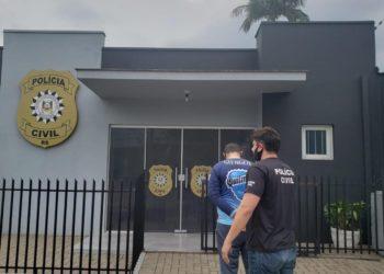 Segundo criminoso, acusado de recrutar proprietários de contas foi preso dias atrás  (Foto: Polícia Civil)